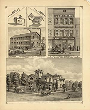 Jamestown NY, W.A. Blackstone Horton Manufacturing Co.,: F.W. BEERS