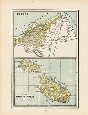 Smyrna / The Maltese Islands: George F. Cram