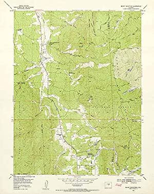 Mount Deception Quadrangle, Colorado by United States Geological ...