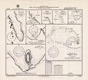 Borneo / Indonesia - Bays and Anchorages: Hydrographic Office, U.S.