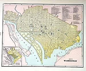 Map of Washington, D.C.: George F. Cram