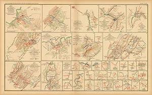 Civil War Atlas; Plate 84; Sketch of: U.S. War Records