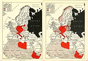 Rand McNally World Atlas containing War Maps: Rand McNally