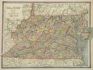 Virginia, West Virginia, Maryland & Delaware: George F. Cram