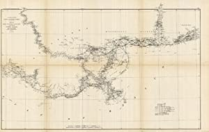 Sketch Showing the Progress of the Survey on the Coasts of Florida, Alabama, Mississippi, and ...