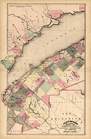 County of Temiscouata with parts of Saguenay,: H. F. Walling,