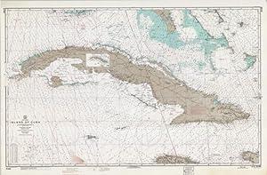 West Indies Island of Cuba, from U.S.: U.S. Coast and