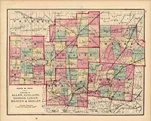 State of Ohio, Counties of Allen, Auglaize,: L.H. Everts