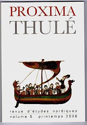 Proxima Thulé. Revue d'études nordiques. Volume V.: Collectif / DILLMANN