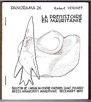 La préhistoire en Mauritanie.: VERNET (robert)