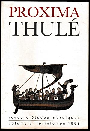 Proxima Thulé. Revue d'études nordiques. Volume III: Collectif [DILLMANN (françois-xavier)