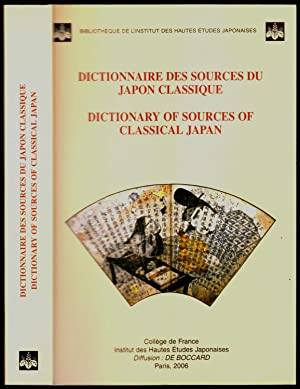 Dictionnaire des sources du Japon classique - Dictionary of sources of classical Japan.