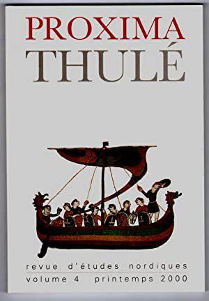 Proxima Thulé. Revue d'études nordiques. Volume IV.: Collectif / DILLMANN