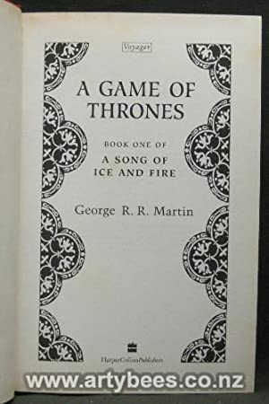 A Game of Thrones - First Edition: Martin, George R R