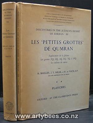 Discoveries in the Judaean Desert of Jordan III - Les Petites grottes' De Qumran - 2 Volumes -...