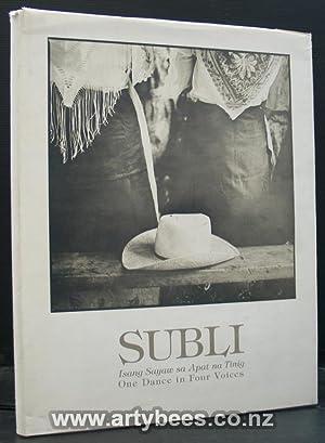 Subli. One Dance in Four Voices: Mirano, Elena Rivera