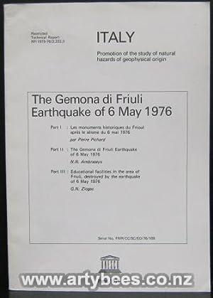 The Gemona Di Friuli Earthquake of 6 May 1976 - UNESCO Technical Report RP/1975-76/...