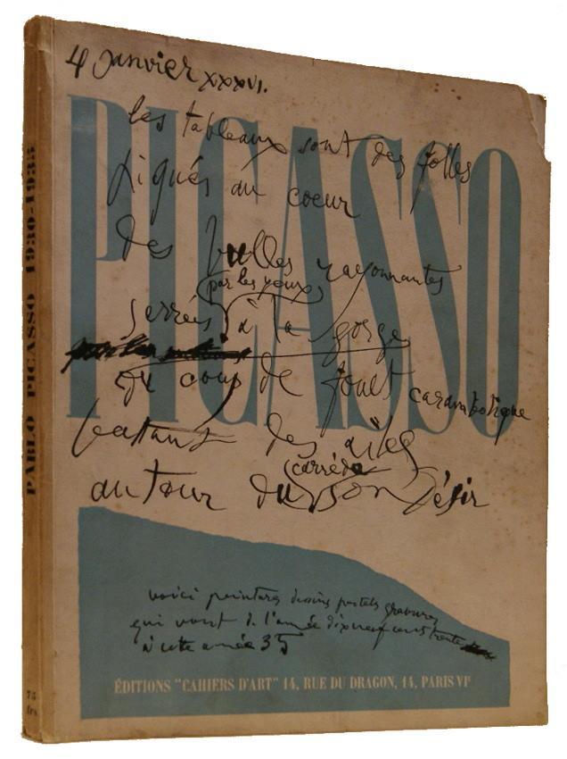 Picasso 1930-1935 Picasso, Pablo; Zervos, Christian (editor)