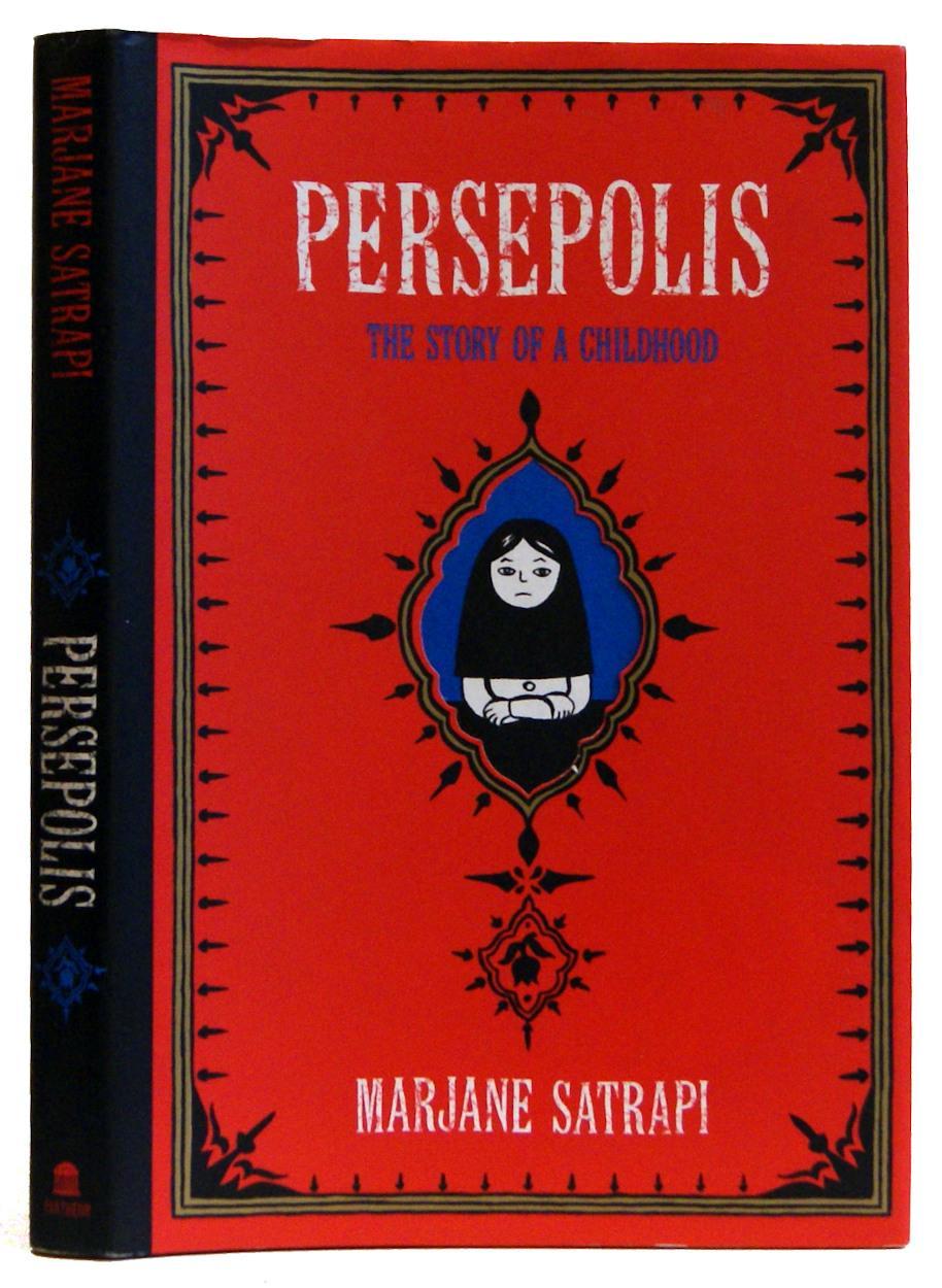 Marjane Satrapi Persepolis Signed Abebooks