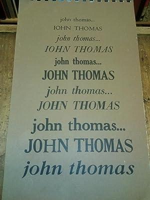 John Thomas: Thomas, John