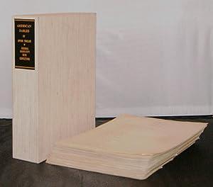 American Fables [Unpublished Book Length Manuscript]: Sinclair, Upton; London,