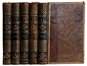 Emile, ou de L'education [5 volumes]: Rousseau, Jean-Jacques; Clément-Pierre