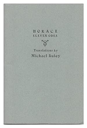 Horace: Eleven Odes