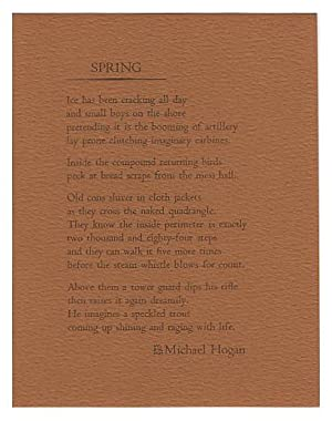 Spring (Poetry Post Card No. 27)