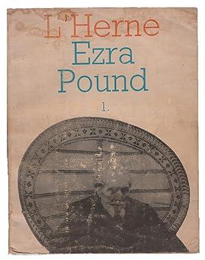 Les Cahiers De L'Herne: Ezra Pound, Volume: Pound, Ezra; Dominique