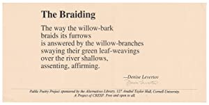 The Braiding [Public Poetry Project]