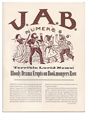JAB Number 6 / Fall, 1996 (Journal of Artists' Books)