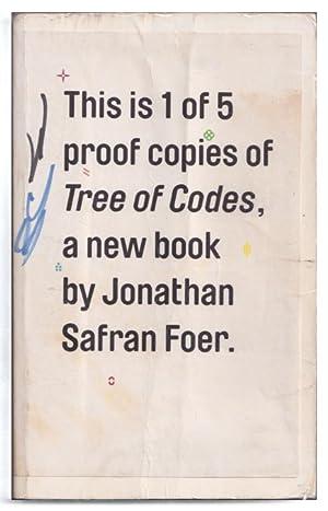 A Tree Of Codes: Foer, Jonathan Safran