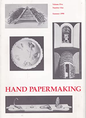 Hand Papermaking Volume 5, Number 1 / Summer 1990