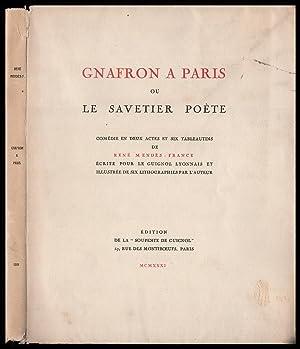 Gnafron a Paris: Ou, Le Savetier Poete: Mendes-France, Rene