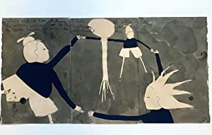 Handshake Triptych : Alice Did Not Like Shaking Hands With Either of Them First : Sketch for ...