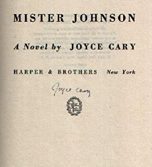 Mister Johnson: Cary, Joyce
