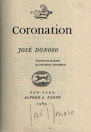 Coronation: Donoso, Jose; Goodwin, Jocasta (translator)