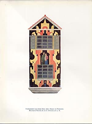 Farbige Raume: 40 Blatt Handwerklicher Kunst Darunter 37 Farbige Tafeln Gesammelt Aus Der ...