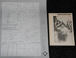 interfunktionen 7. + original-plakat zu beuys/christiansen aktion: heumann, friedrich wolfram