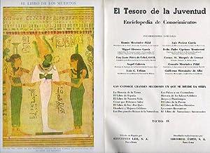EL TESORO DE LA JUVENTUD. Enciclopedia de: V.V. A.A.
