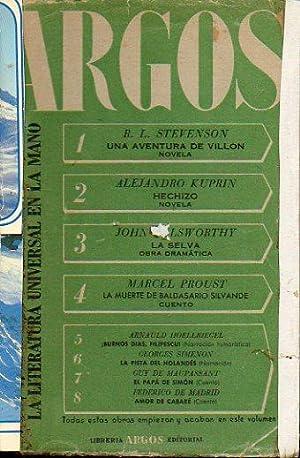 ARGOS. LA LITERATURA UNIVERSAL EN LA MANO.: Stevenson, R. L.