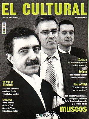 EL CULTURAL. Luis María Anson: Angelica Liddell,: Berasátegui, Blanca (Dir.)