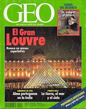 GEO. Una Nueva Visión del Mundo. Revista: Rubio Navarro, Javier