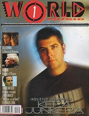 WORLD MUSIC. Bimestral. Nº 64. Kepa Junkera: Martín Frías, José