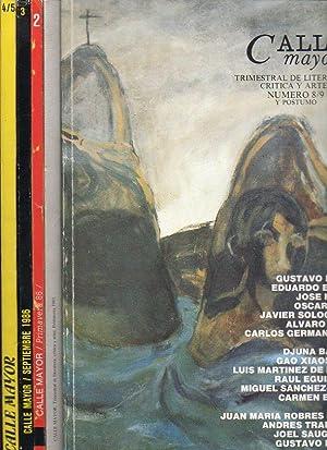 CALLE MAYOR. Trimestral de Literatura, Crítica y: Ramo, José (Dir.)