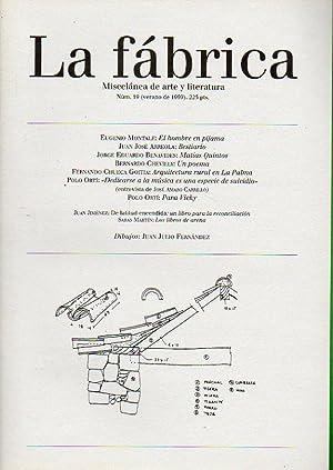 LA FÁBRICA. Miscelánea de arte y literatura.: Rodríguez Concepción, Anelio
