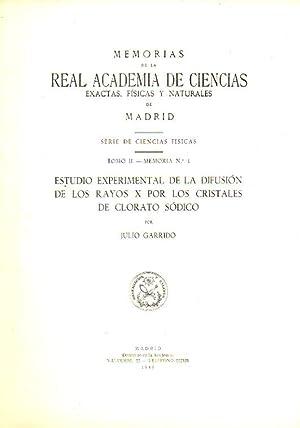 ESTUDIO EXPERIMENTAL DE LA DIFUSIÓN DE LOS: Garrido, Julio.