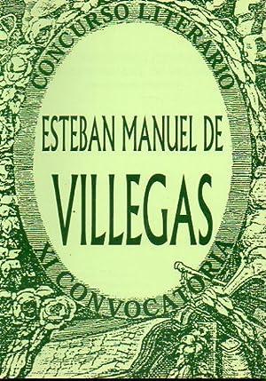 CONCURSO LITERARIO ESTEBAN MANUEL DE VILLEGAS. XI: V.V. A.A.