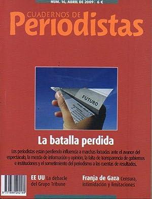 CUADERNOS DE PERIODISTAS. Revista de la Asociación: González Urbaneja, Fernando