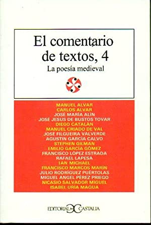 EL COMENTARIO DE TEXTOS. Vol. 4. LA: V.V. A.A.